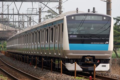 【JR東】E233系ウラ166編成東急出場