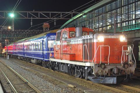 【JR東】24系青森車4両回送
