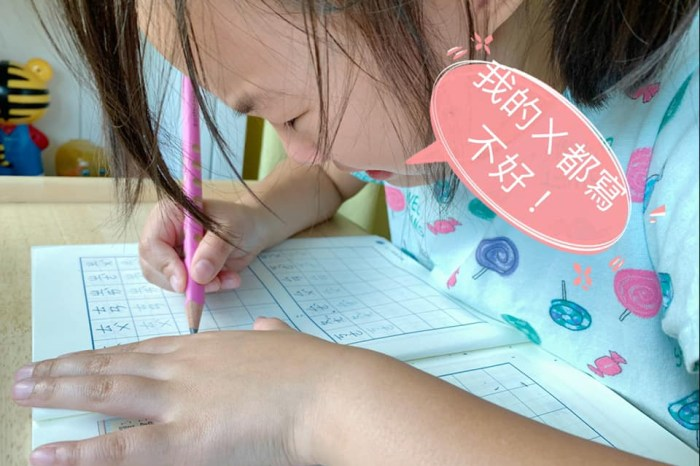 """【教養沒有方程式】國小寫字練習,如何擺脫""""橡皮擦媽媽""""的命運"""