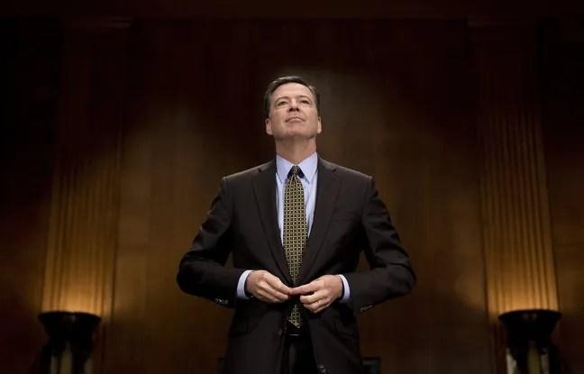 Le directeur du FBI James Comey à Washington, le 3 mai 2017.