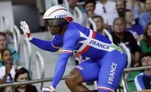 Grégory Baugé lors des Jeux Olympiques de Rio, le 12 août 2016.