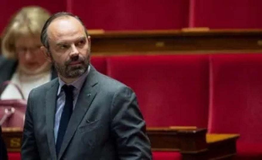 Edouard Philippe à l'Assemblée nationale.