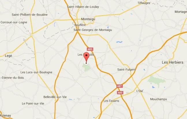 L'accident s'est déroulé près de la commune les Brouzils.