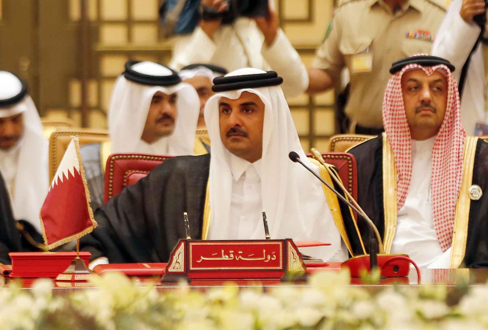 Plusieurs pays du conseil de coopération du Golfe (CCG) accusent le Qatar - dirigé par l'émir al-Thani (photo) - de soutenir le terrorisme.