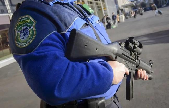 Illustration d'un policier suisse.