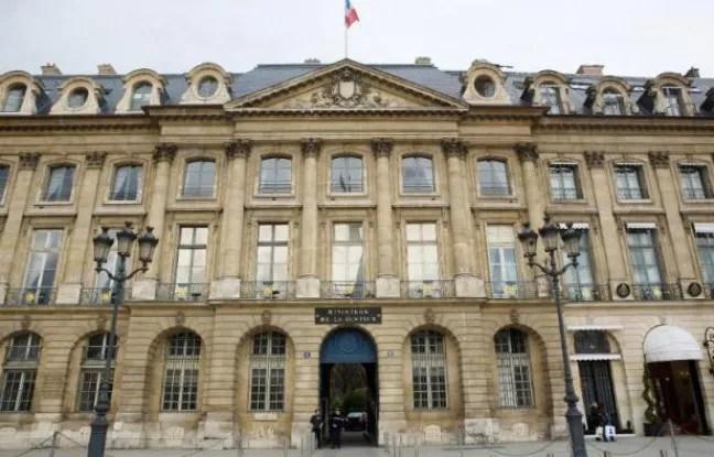 La façade du ministère de la Justice à Paris