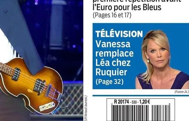 Capture d'écran de la une du «Parisien» du 30 mai 2016.