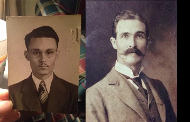 A gauche : une photo d'un sosie de Johnny Depp, postée par mwjstone14. A droite : le portrait d'un sosie de Matthew McConaughey posté par EmberRainbow.