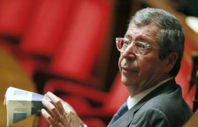 Patrick Balkany le 26 novembre 2014 à l'Assemblée nationale à Paris