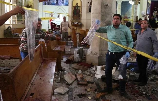 Le précédent attentat contre une église copte, qui avait fait 45 morts, avait eu lieu le 9 avril 2017 à Tanta au nord du Caire.