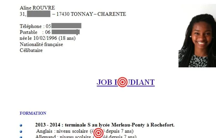 Gilles Payet Analyse Le Cv Et La Lettre De Motivation D Aline