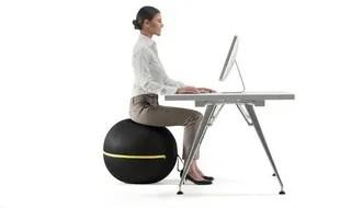 On A Test Pour Vous Le Ballon Muscleur Au Bureau