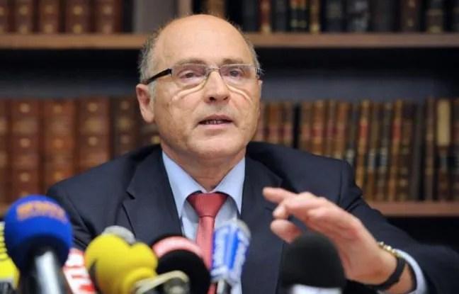 Le procureur de la République de Marseille Brice Robin le 24 juin 2014