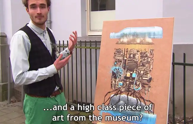 Une émission néerlandaise a piégé des amateurs d'art