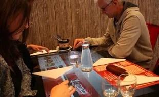 max a table un restaurant equipe de
