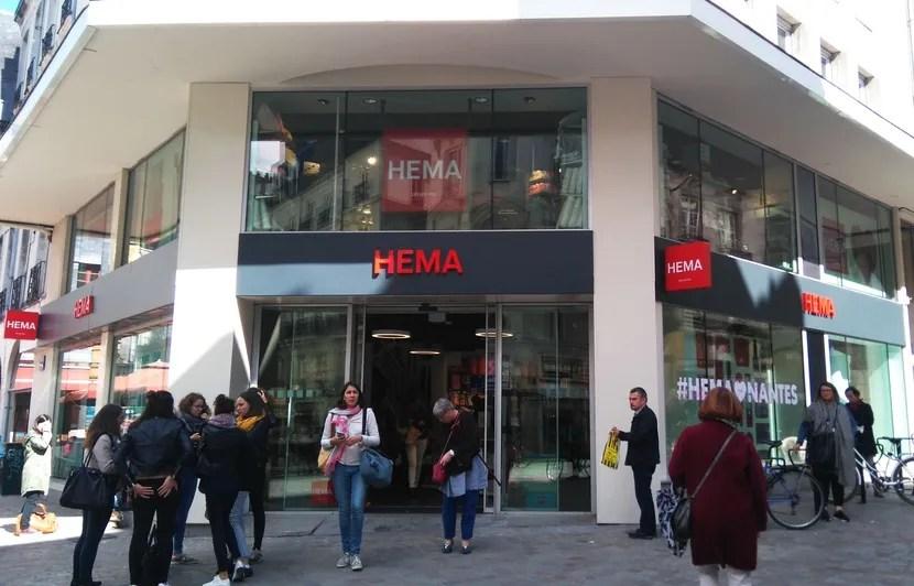 ouverture de la boutique hema