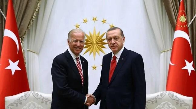Erdogan et Biden d'accord pour «bâtir une coopération plus étroite»