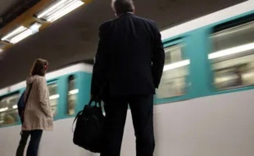Photo d'illustration de la ligne 4 du métro à Paris.