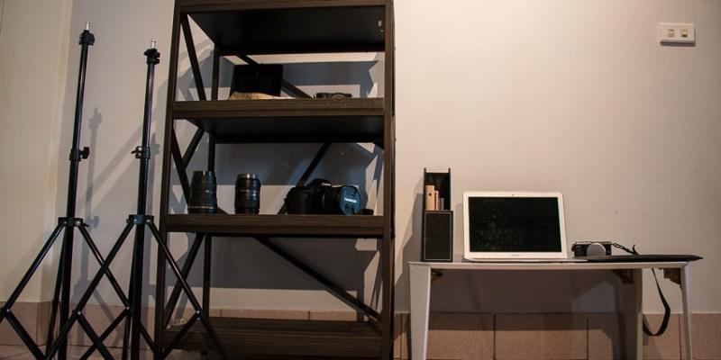 ∥生活∥HOUSER➤[Cristallo]工業風/解構主義 四層置物架。收納起來美觀又好看!