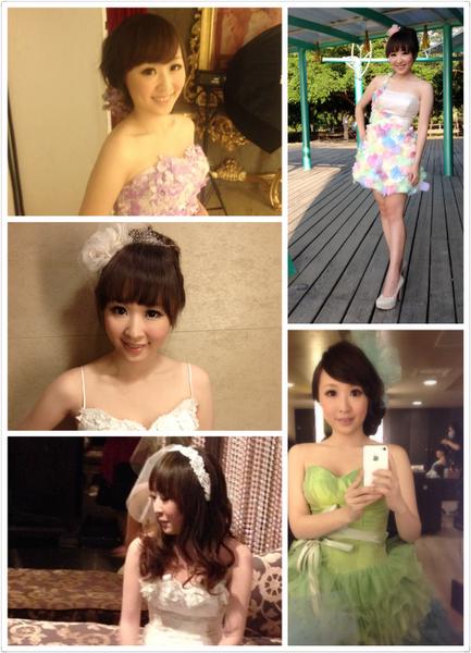 ∥婚∥法國台北-拍照禮服與造型分享^^