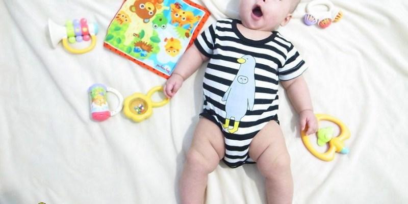 育兒∥【樂雅Toyroyal】初生兒寶寶的五感玩具推薦!日本人氣樂雅動物森林系列~