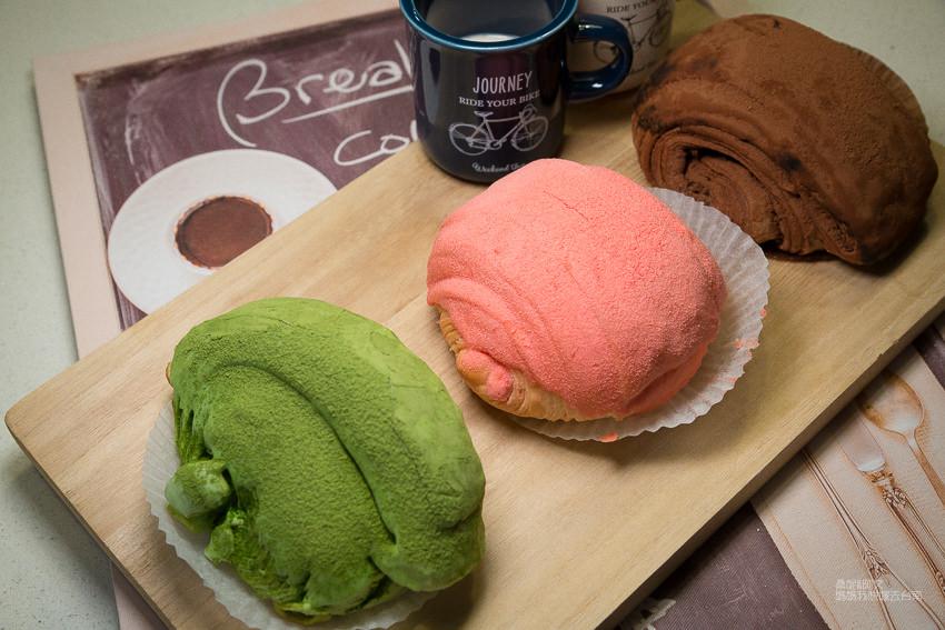 【台南美食】台南也有三色髒髒包啦~~台南髒髒包推薦!草莓、抹茶、巧克力~佳慶烘焙坊