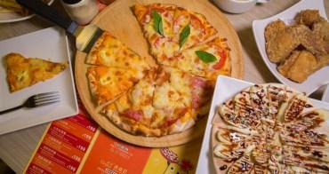 【台南美食】謝師宴餐廳推薦!! 台南吃到飽!! Double Cheese打爆起司Pizza吃到飽