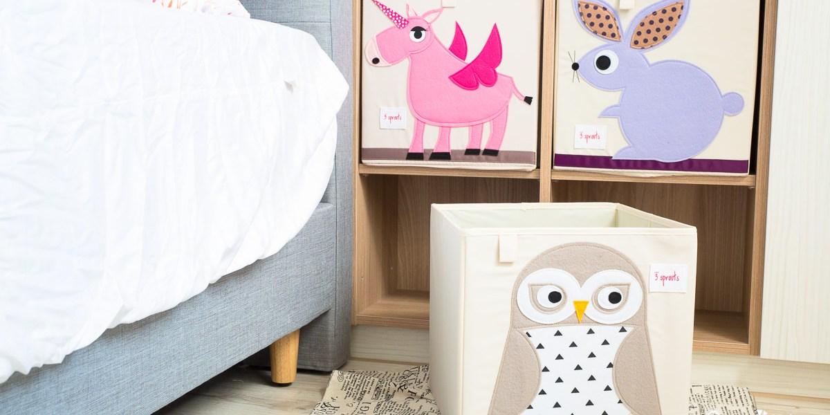 【開團】讓房間質感大家分,又可以收納好玩具的收納品牌~ 3 Sprouts收納系列