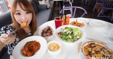 【台南美食】女孩們最愛的夢幻餐廳Dazzling Cafe,點雙人套餐即可開胃菜和飲料無限續,限時活動開跑中!!!