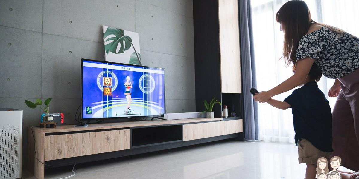 【RIVO】小資平價電視開箱~50型 FHD低藍光護眼液晶顯示器+視訊盒(50RV-13A)