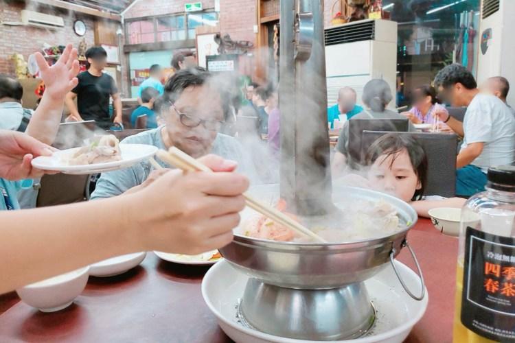 【高雄鳳山美食】鳳山知名的老店,老賈小館庭園餐廳,酸菜白肉鍋真的必點!