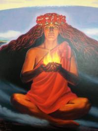 「ハワイ 女神 ペレ 火山 」の画像検索結果