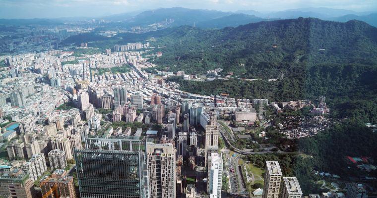 台北旅遊|台北101觀景台,89樓俯瞰全台北市