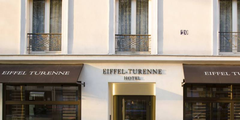 巴黎住宿|治安良好第七區艾菲爾蒂雷納酒店,Hôtel Eiffel Turenne