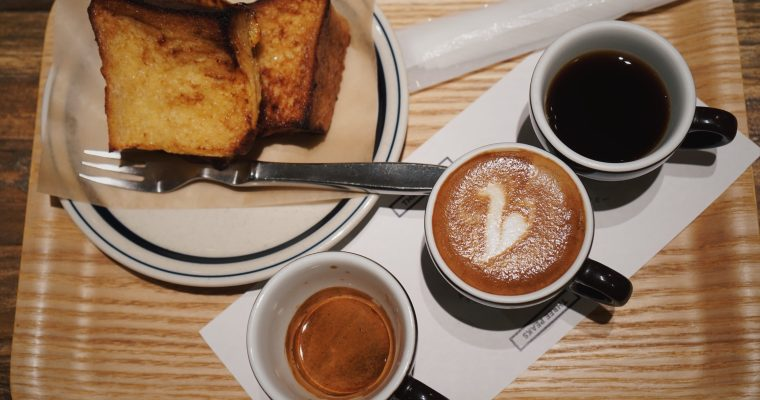 東京美食  池袋咖啡廳吃早餐 ,COFFEE VALLEY蜂蜜吐司與三杯組咖啡