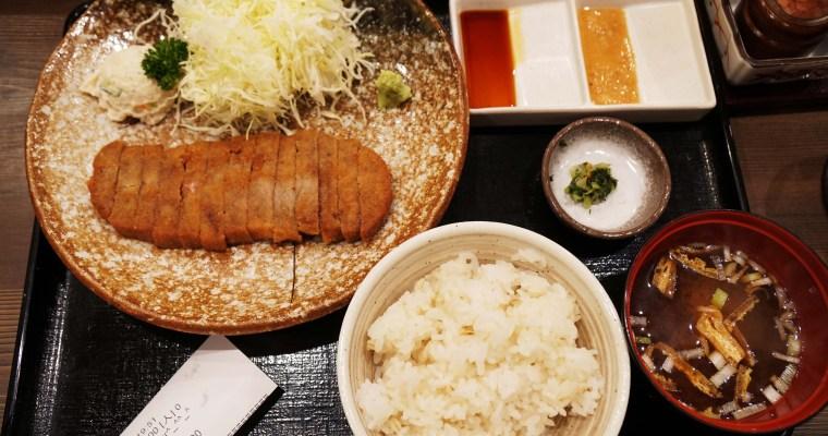 東京美食 池袋牛かつもと村,一口就驚豔的炸牛排