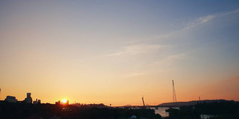首爾旅行|市區也能看到美麗夕陽,首爾日落景點仙遊島