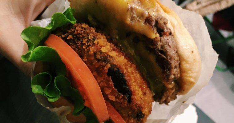 東京美食|東京shakeshack 分店,紐約美味漢堡日本也吃的到