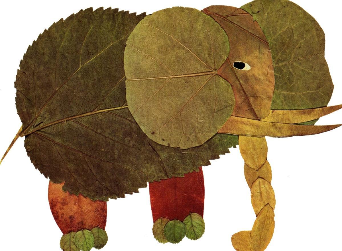 правило, рисунки из листьев животные главное преимущество заключается
