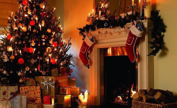 Рождественский интерьер. Фото с сайта http://www.adehansa.ee