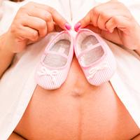 tehotná a dátumové údaje aktualizácie