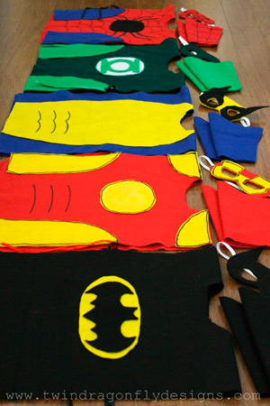 Superhero Costume pentru băieți: Anul Nou 2015