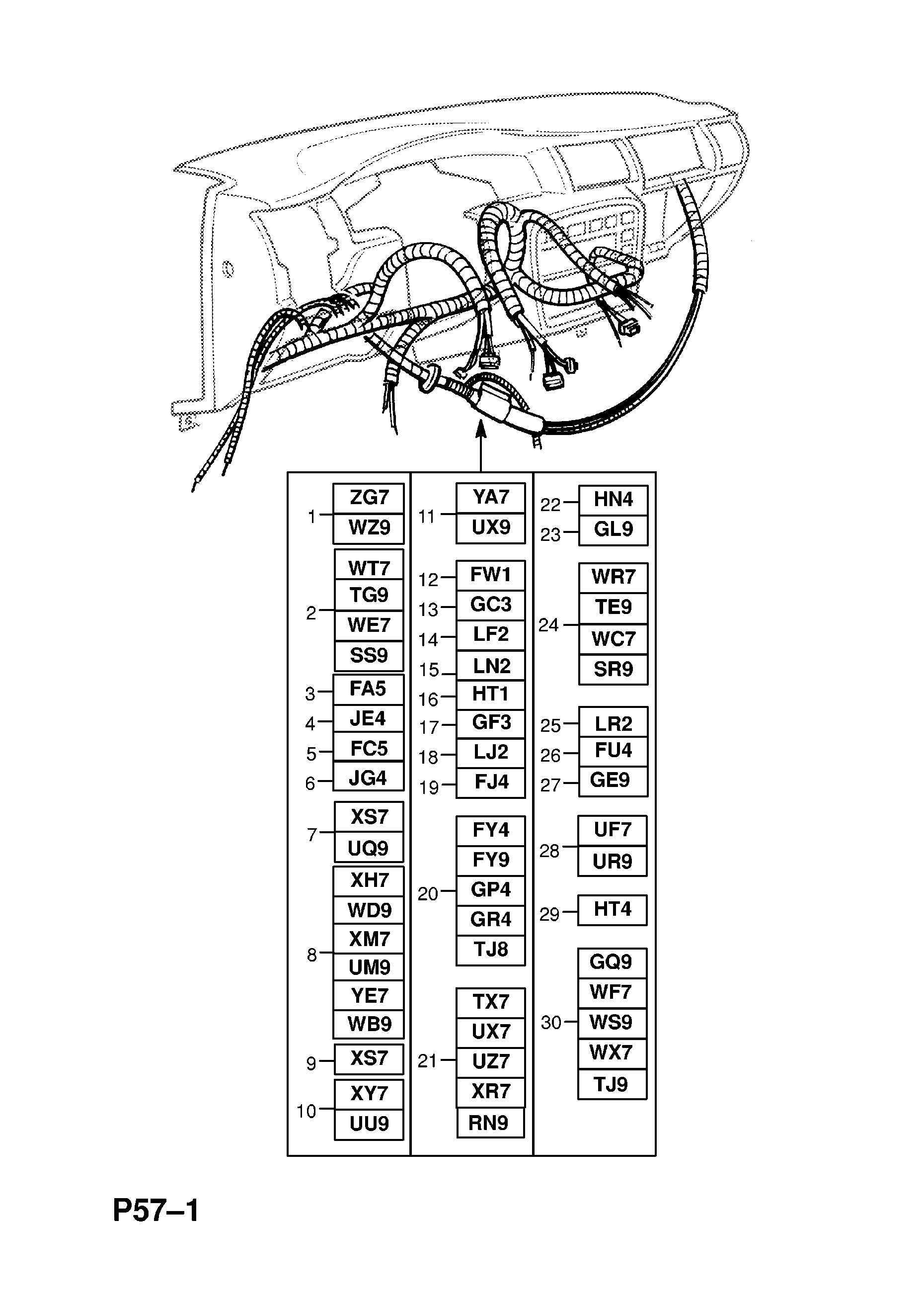 Vauxhall Vectra B Wiring Diagram