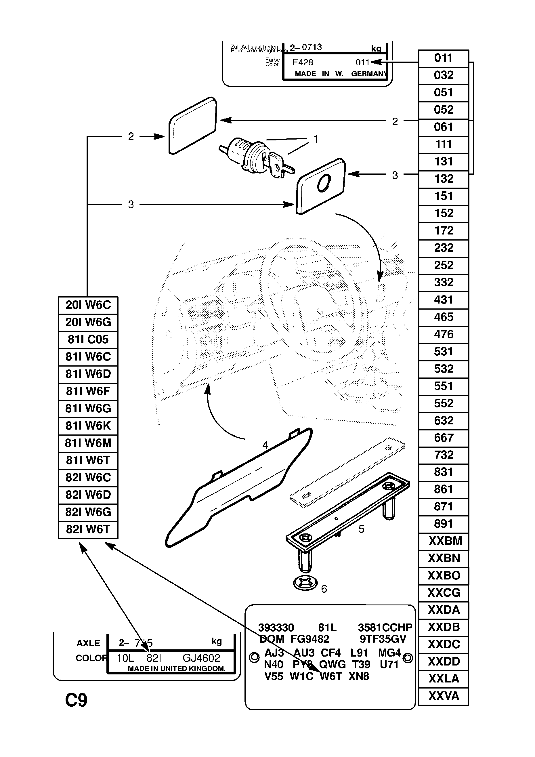 Fuse Box Diagram For Opel Kadett