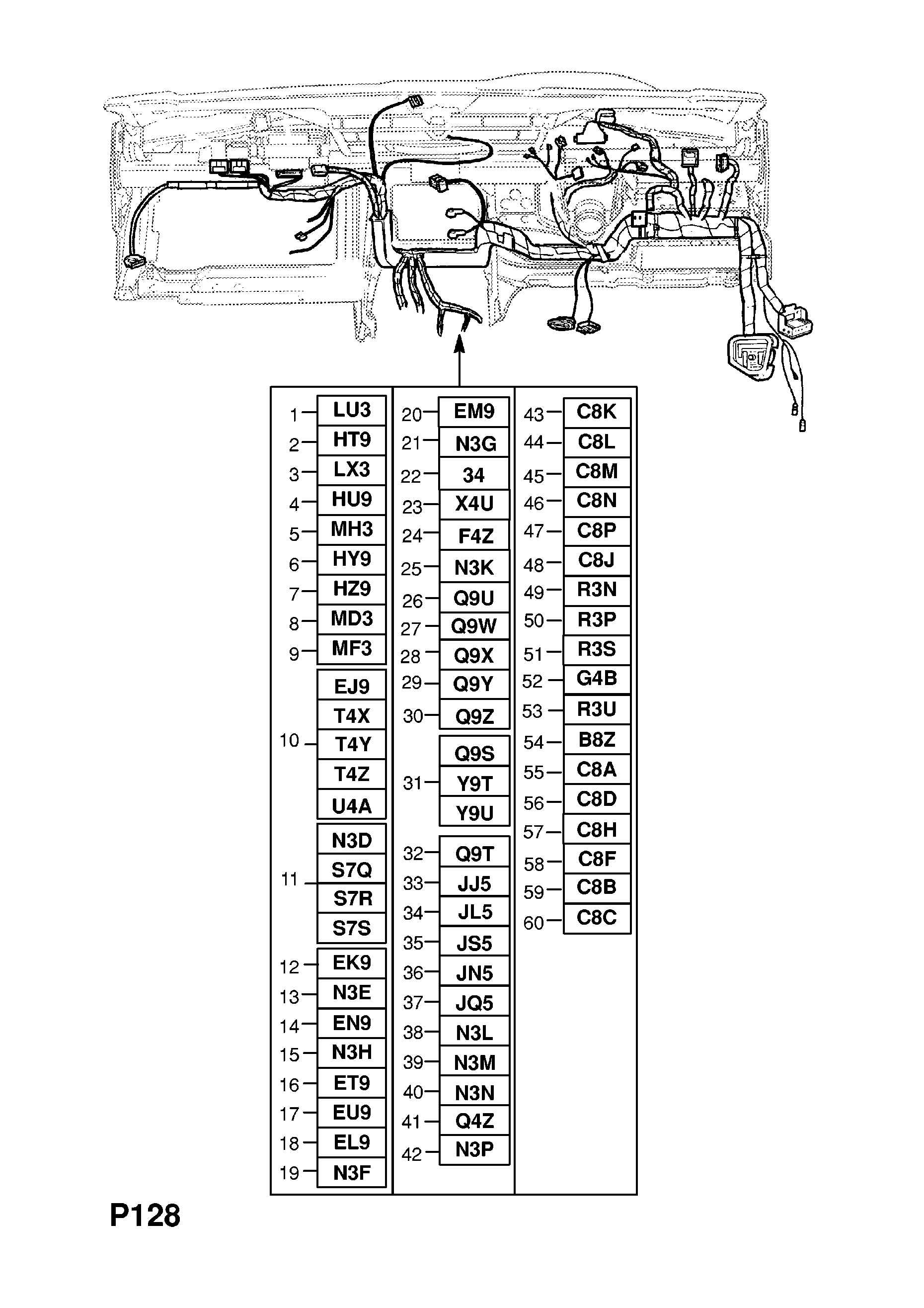 Wiring Diagram Opel Astra G