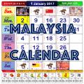 2020 / 2021 Malaysia Calendar Icon