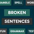 Broken Sentences - Free Icon