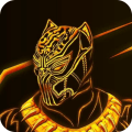 Black Panther Launcher Icon