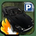3D Luxury Car Parking Icon