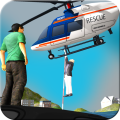 City Helicopter Flight Sim Icon